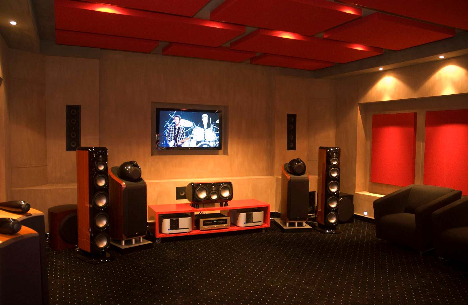 home theatre rooms designs. home theatre designs ideas Modern Home Theatre Room Style Designs For Living  RooHome