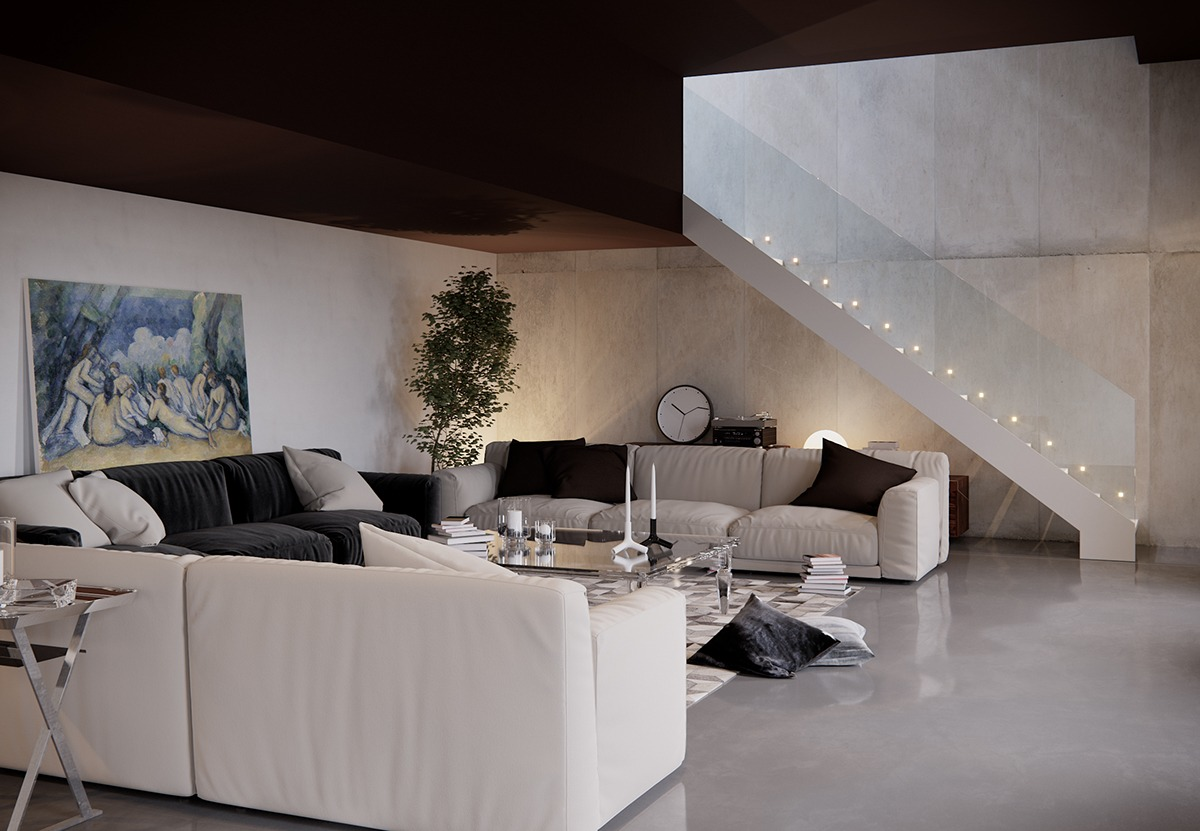 stylish for living room looks modern