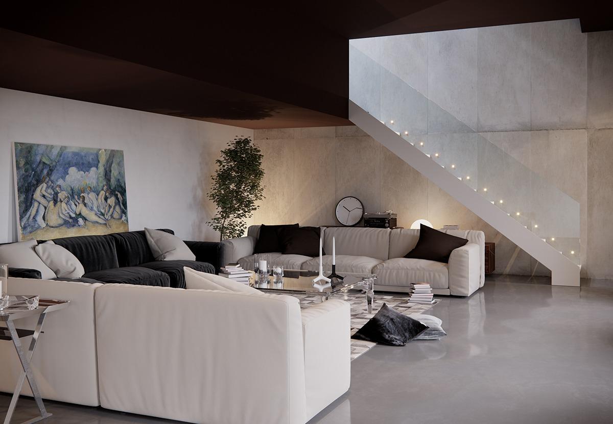stylish for living room looks modern