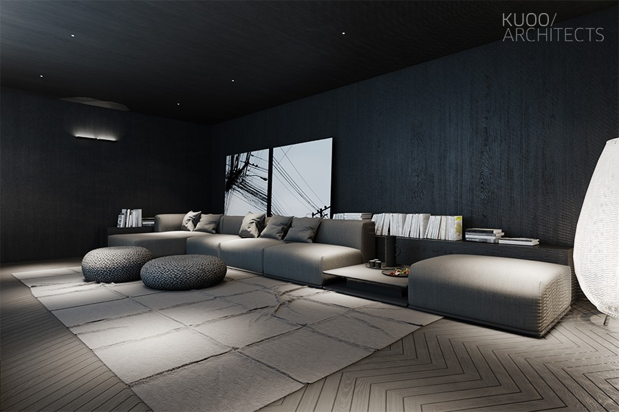 Living room interior design and layout