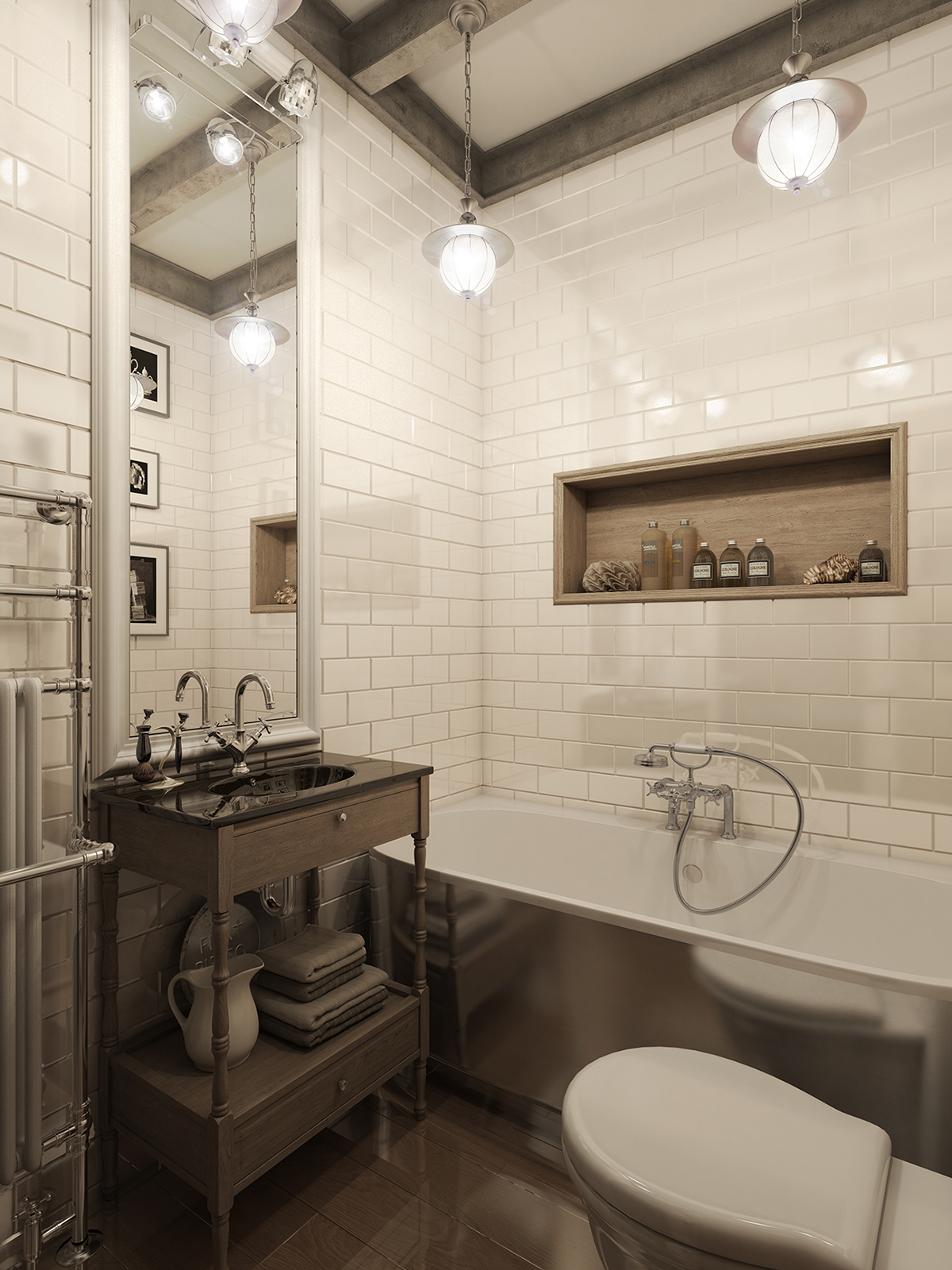 brick wall for apartment design