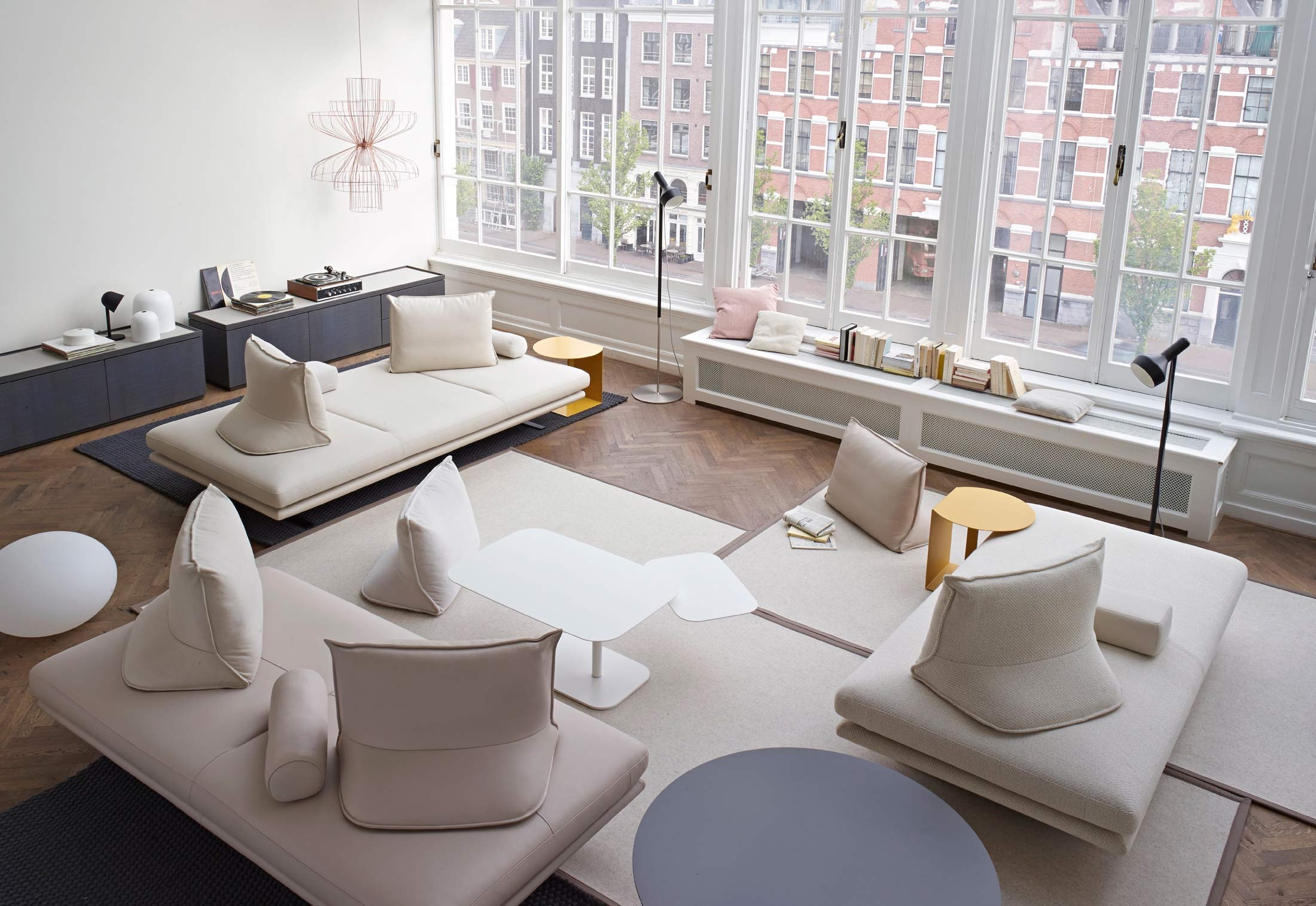 relaxing living room design