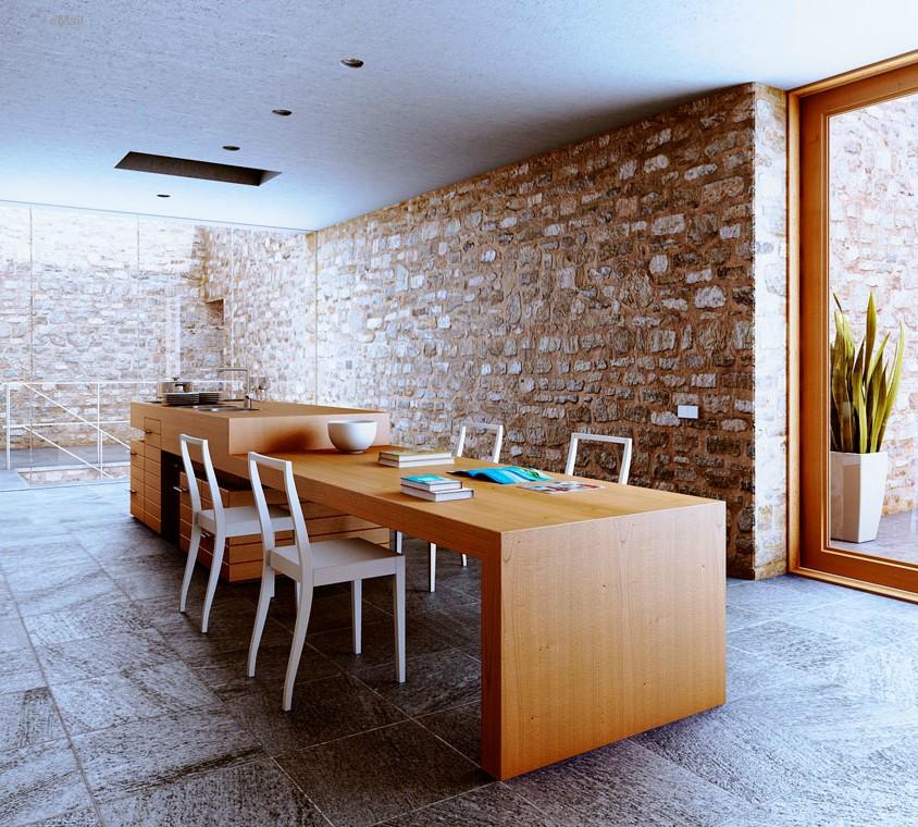 interior wooden style designs