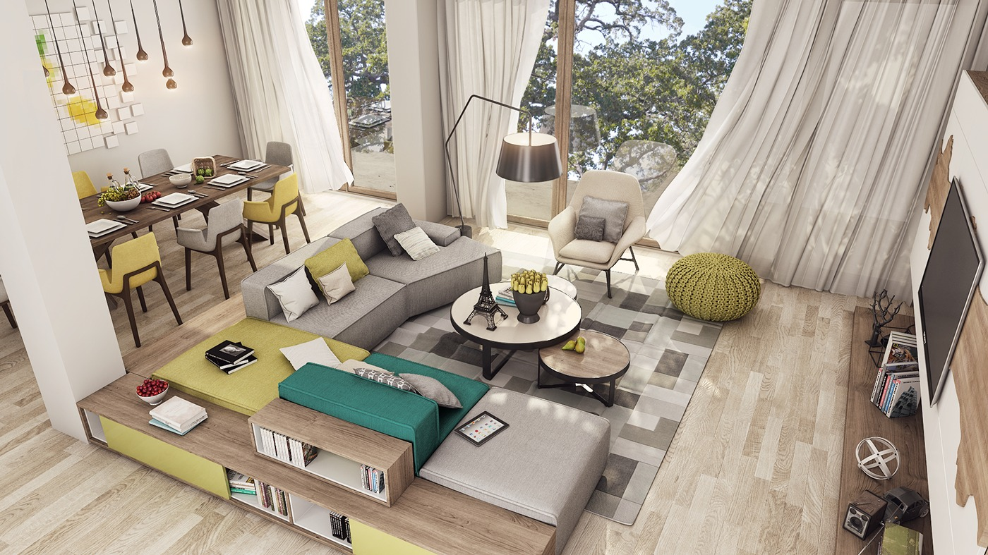 apartment interior designs for a young couple