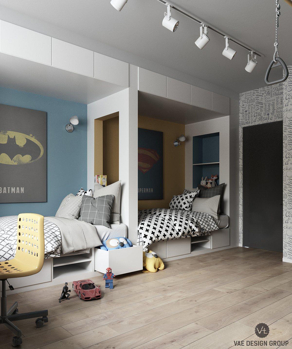 imaginative with superhero wallpaper