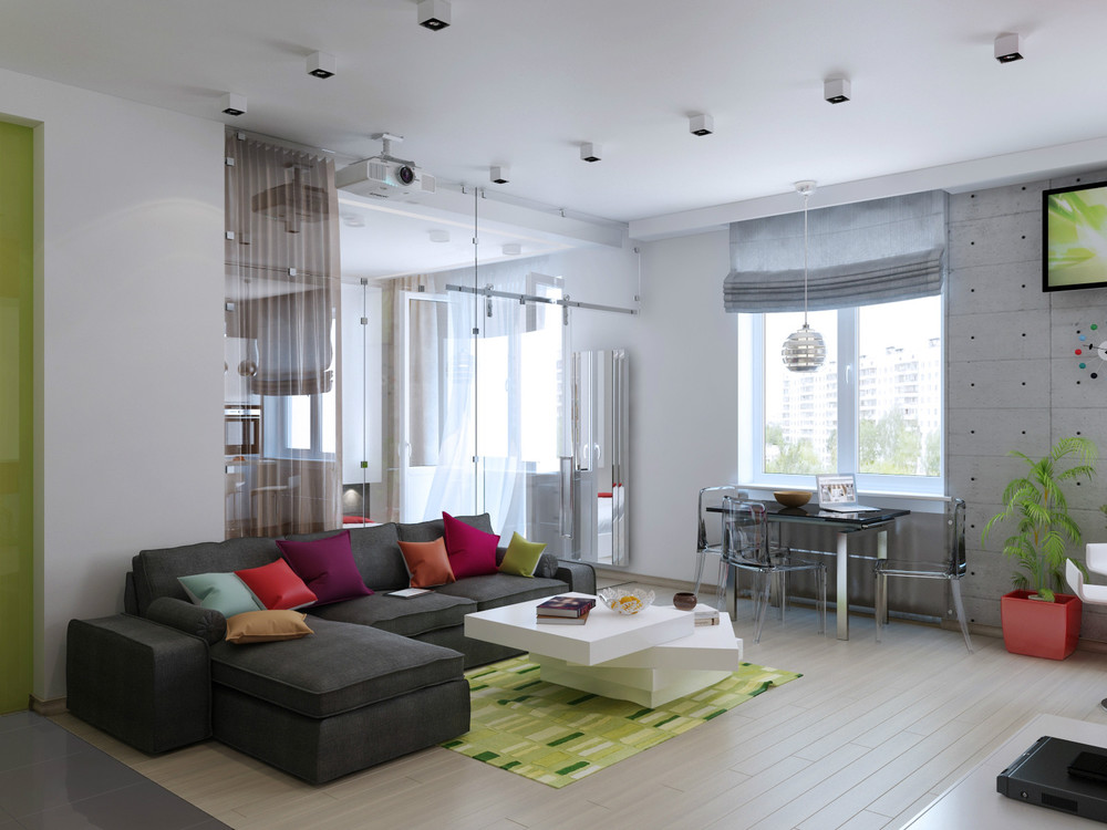 2 Concepts Of Studio Apartment Decorating Which Makes