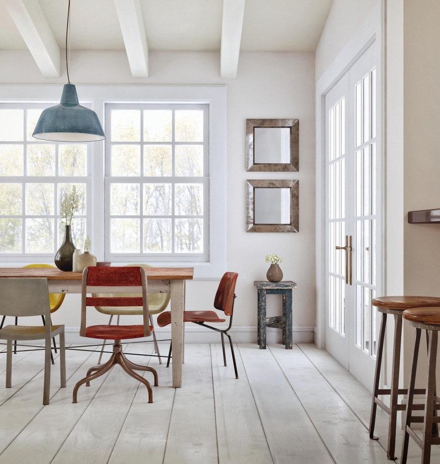 classic decorating dining room idea