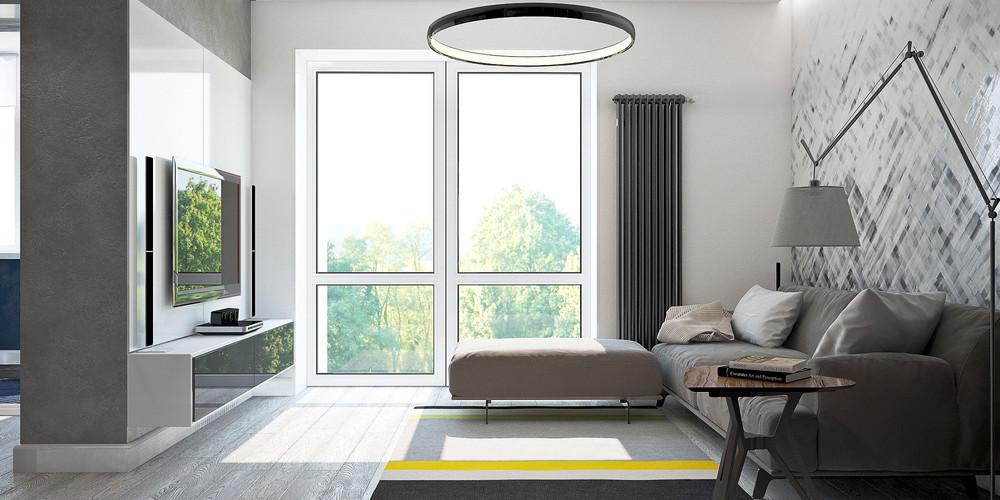 apartment interior living room design