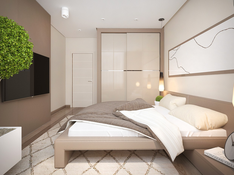 pastel color for bedroom design