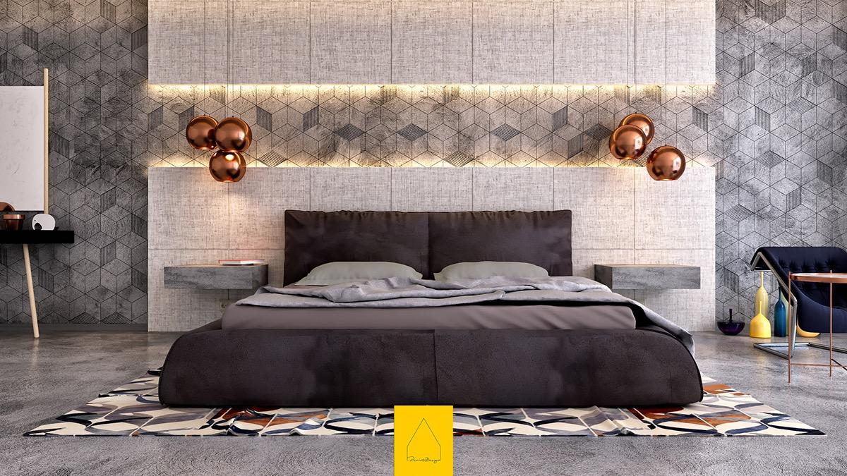 stunning lighting for bedroom