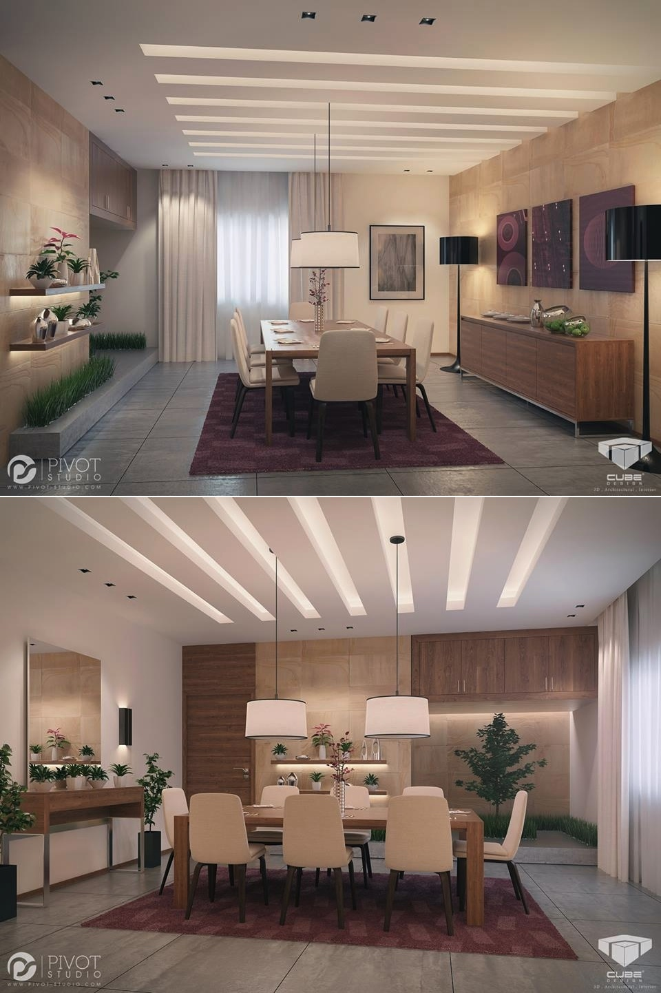 luxury dining room concept ideas
