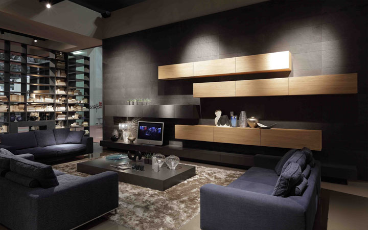 Presotto Italia Contemporary Living Room Design Styles