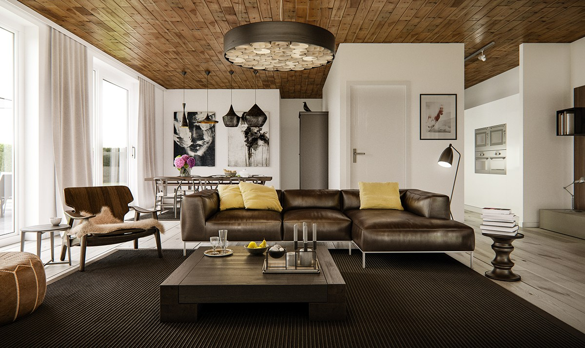 modern stylish for a living room