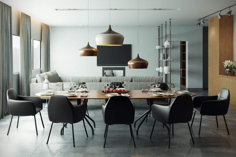 luxury dining room concept designs