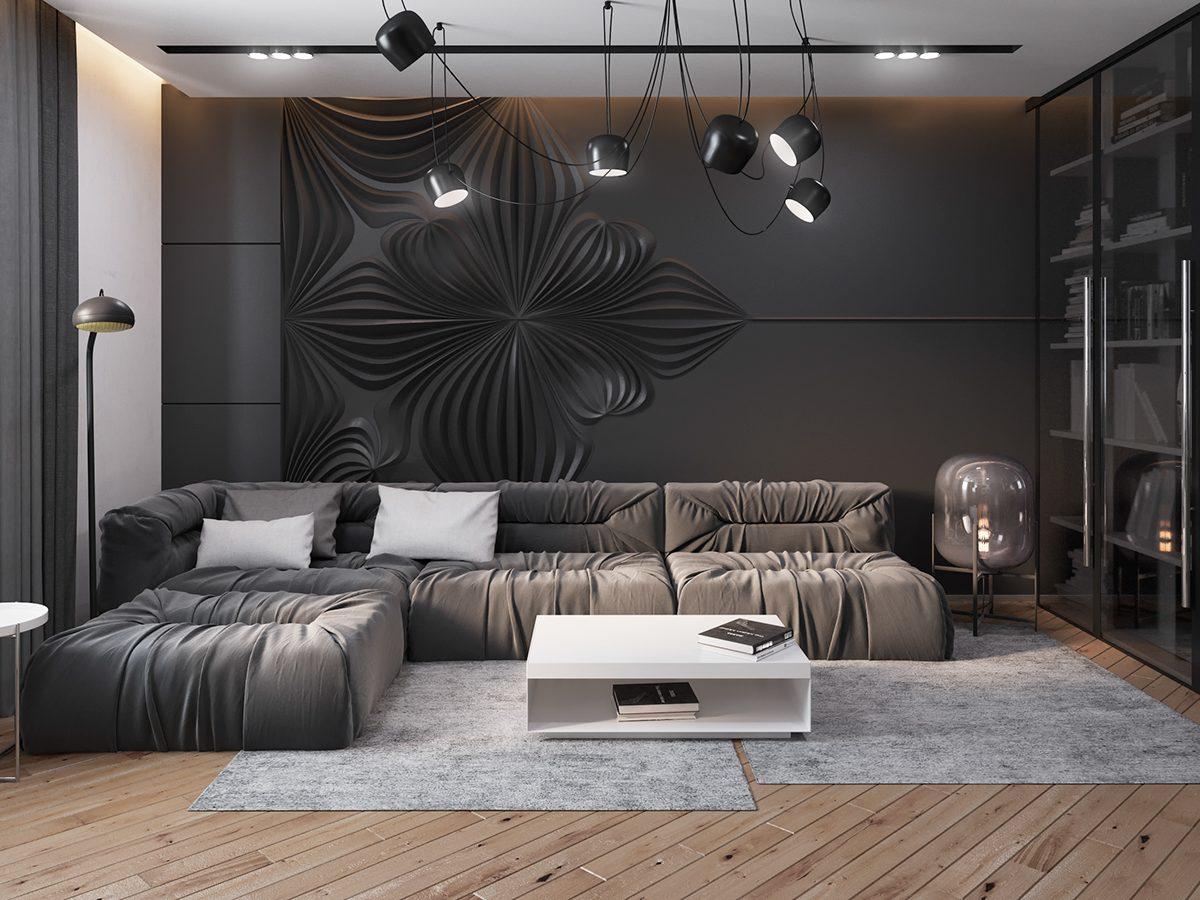 Dark interior style