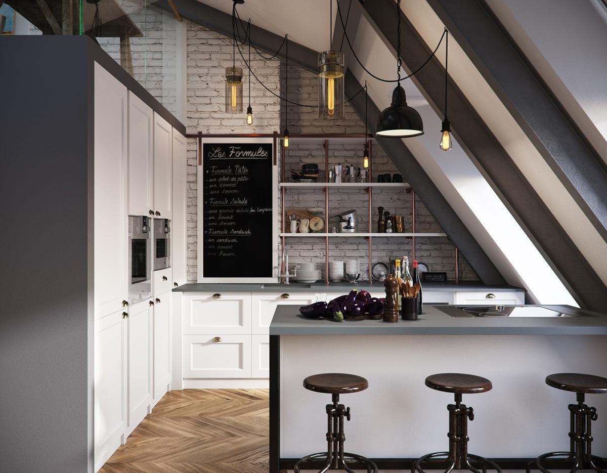 kitchen design for apartment