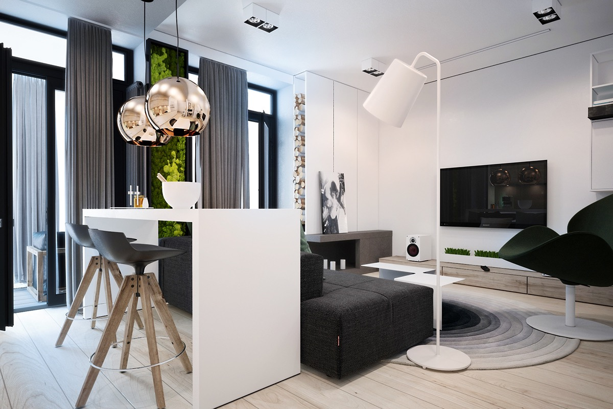 cheerful and colourful concepts apartment