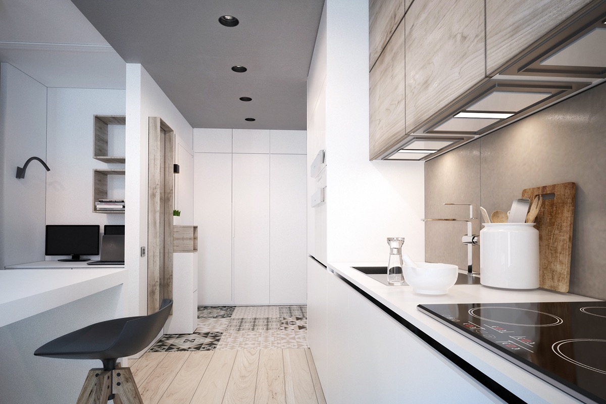 apartment interior kitchen design