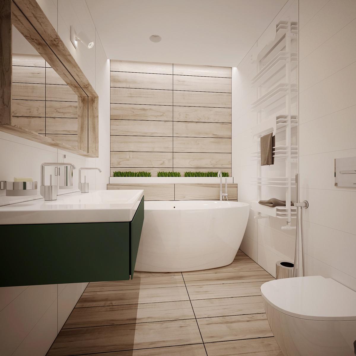 apartment interior bathroom design