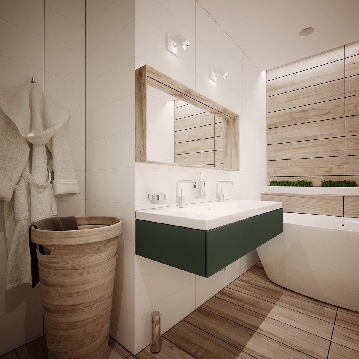 apartment interior bathroom design