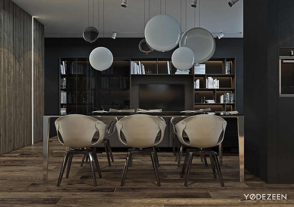 dark grey color design ideas
