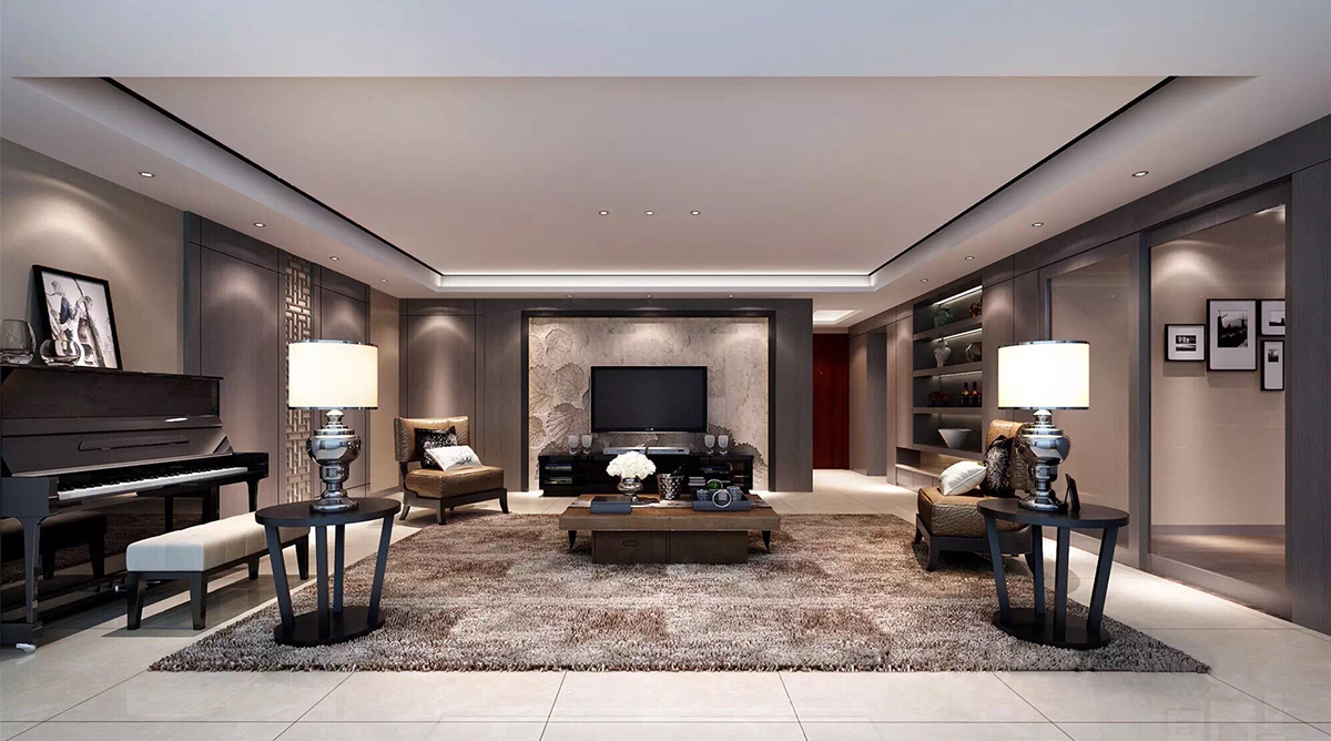 Luxurious interior design