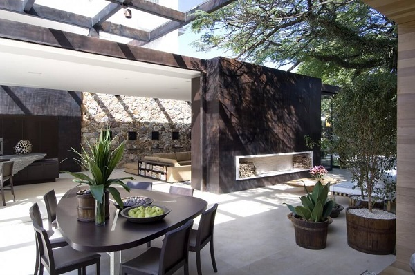 Aesthetic dining room design by Fernanda Merques