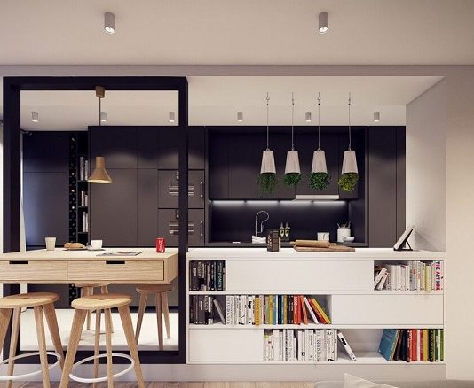 Aesthetic dining room design by plasterlina