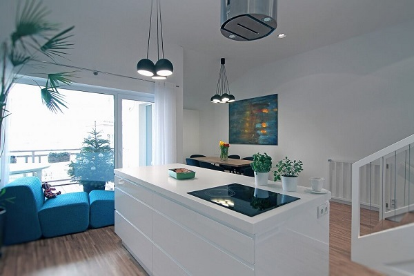 Aesthetic dining room design by using aesthetic interior