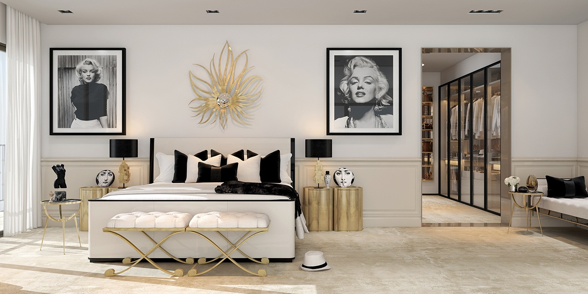 Art bedroom decorating ideas