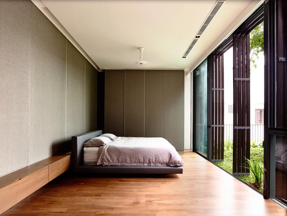 Asian bedroom interior design