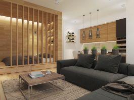 Perfect studio apartment design