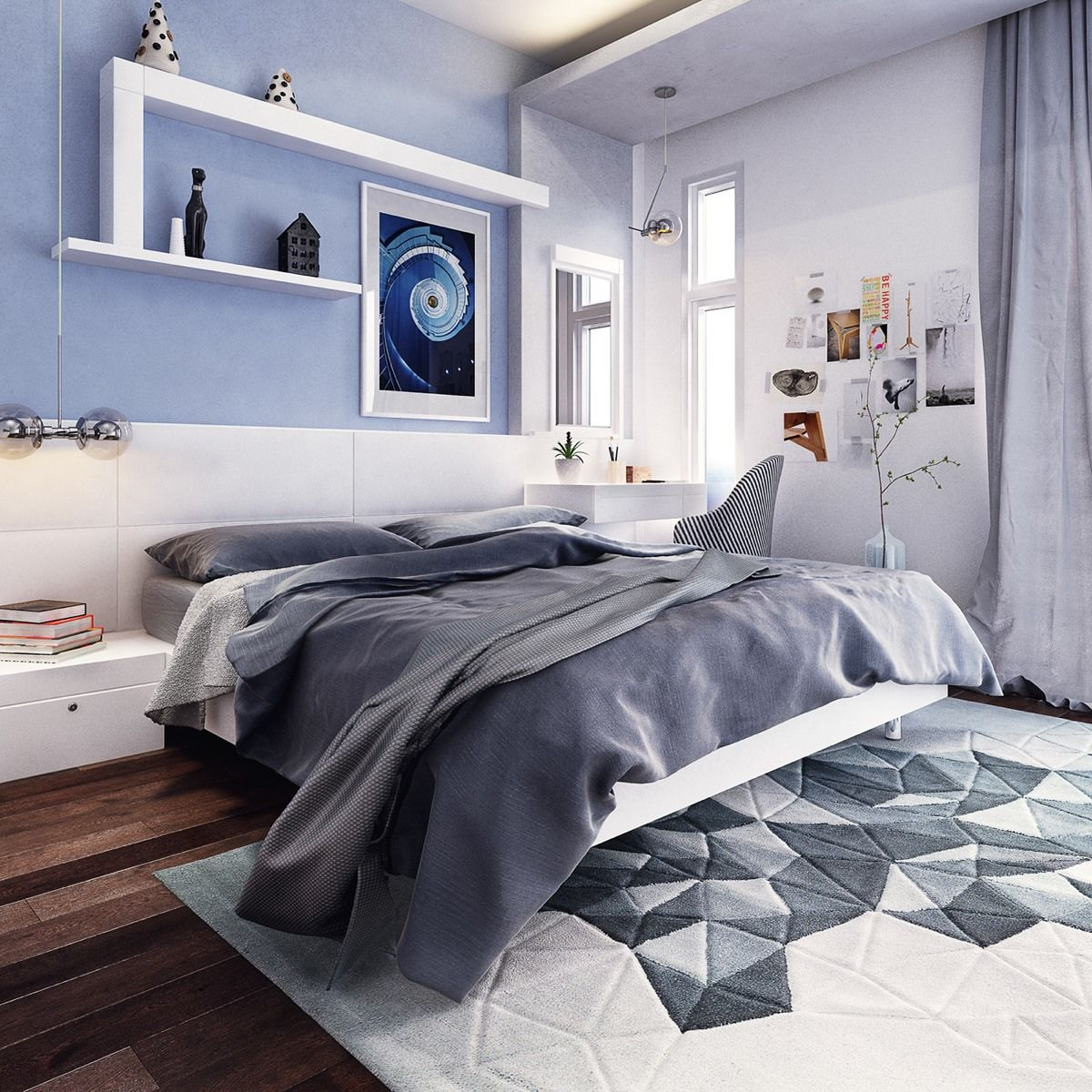 Stylish teenage bedroom ideas