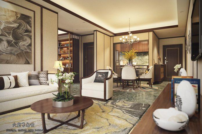 Chinese apartment interior design