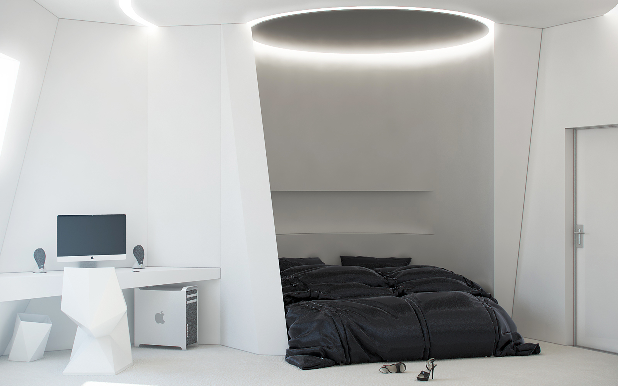 Unique bedroom design