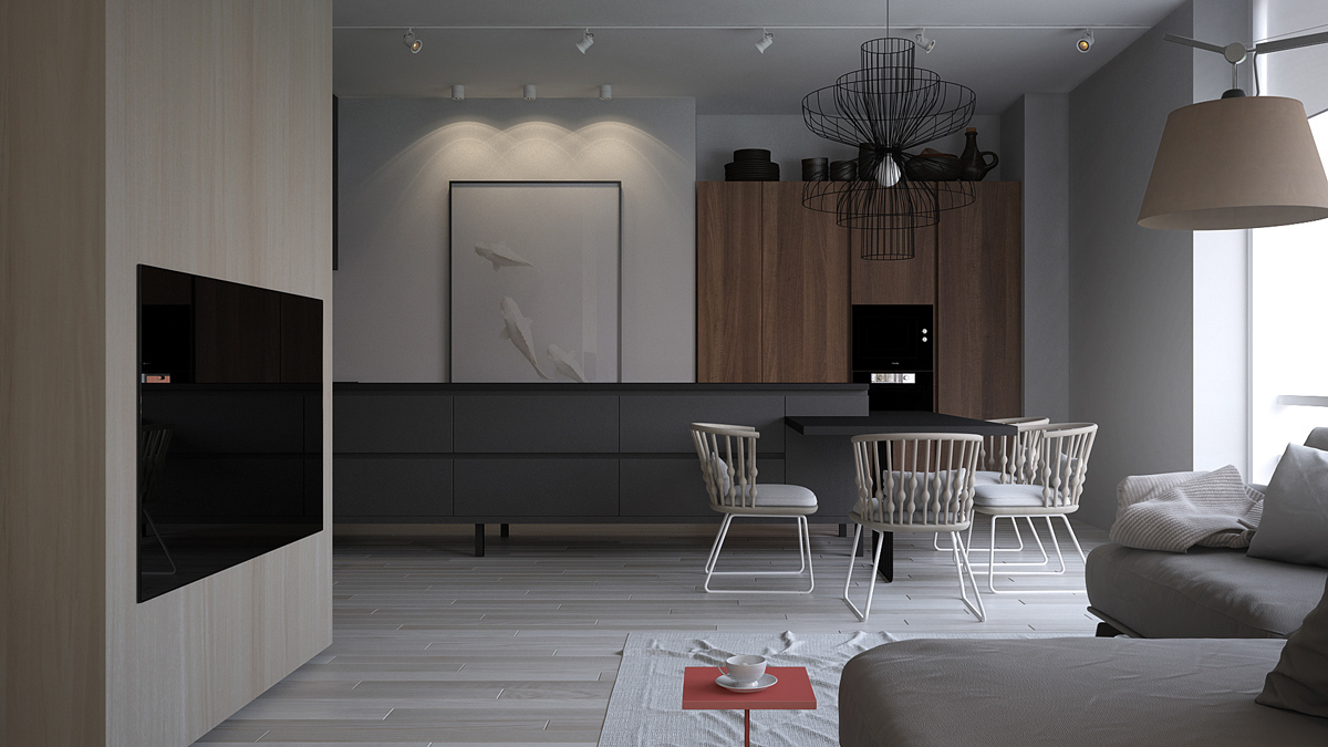 Light interior design style