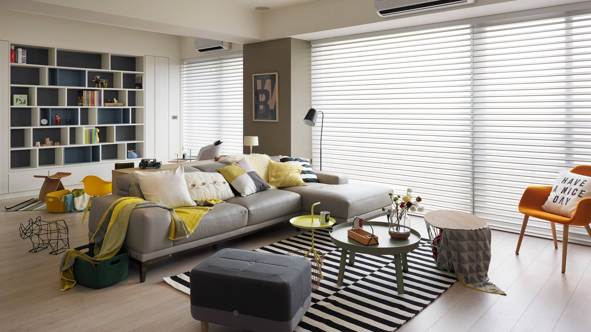 Colorful living room designs ideas