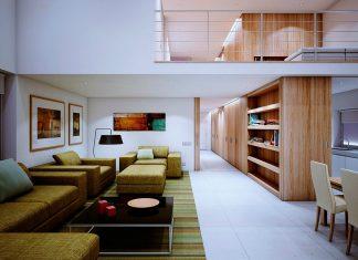 wooden interior home designs