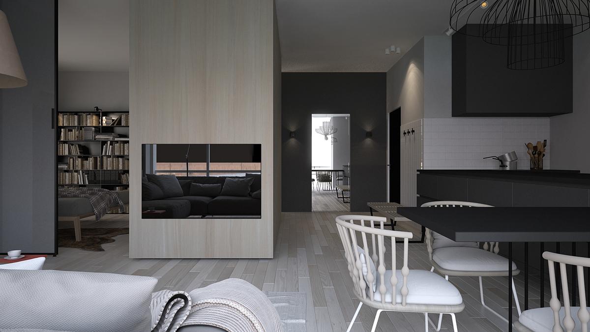Creative apartment design style