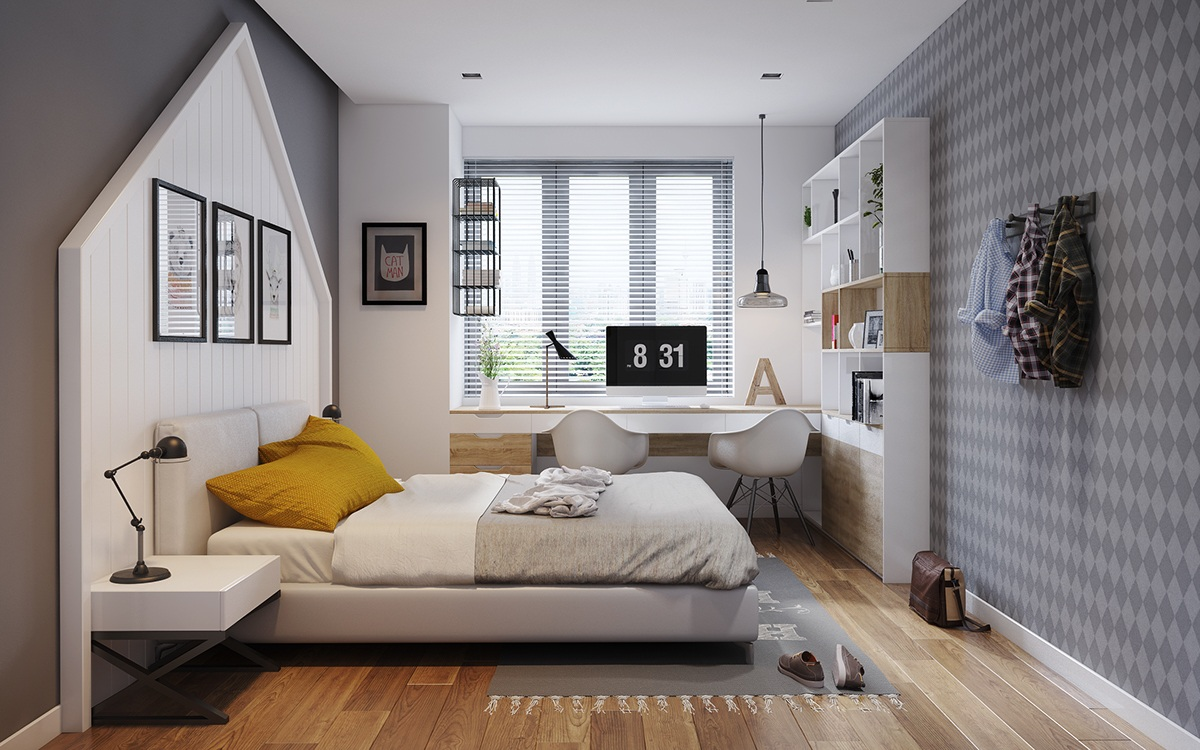 Creative bedroom theme