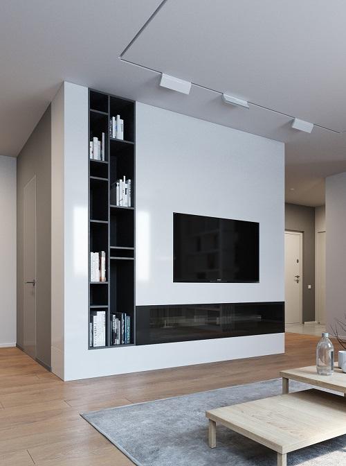 Creative interior for minimalist idea
