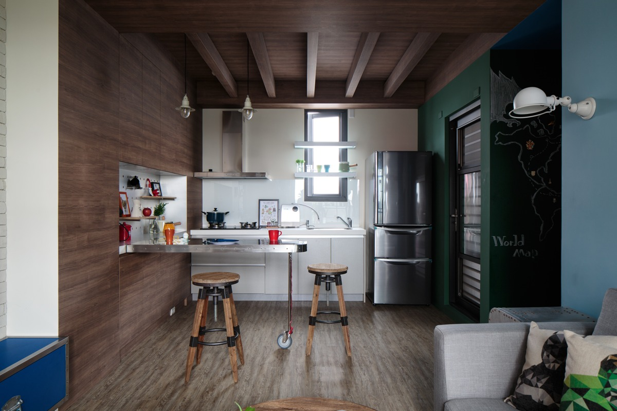 Industrial kitchen design