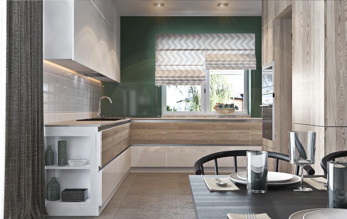 Green kitchen theme
