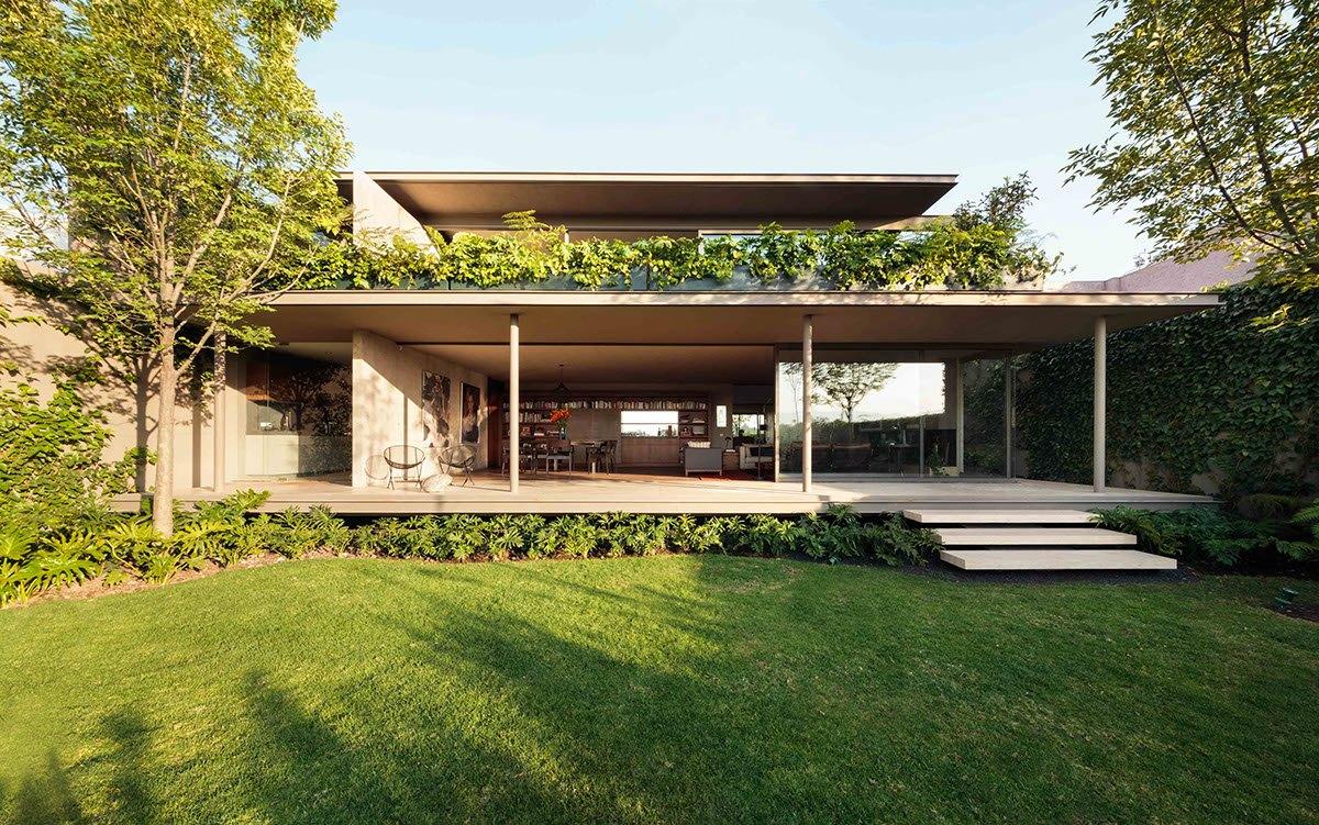 Glass exterior design