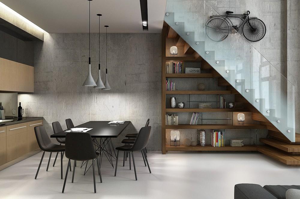 Glass stairway ideas