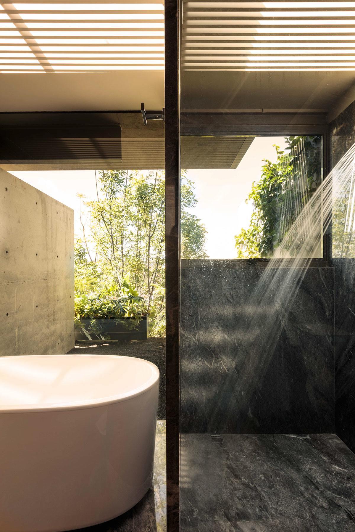 Indoor outdoor bathroom ideas