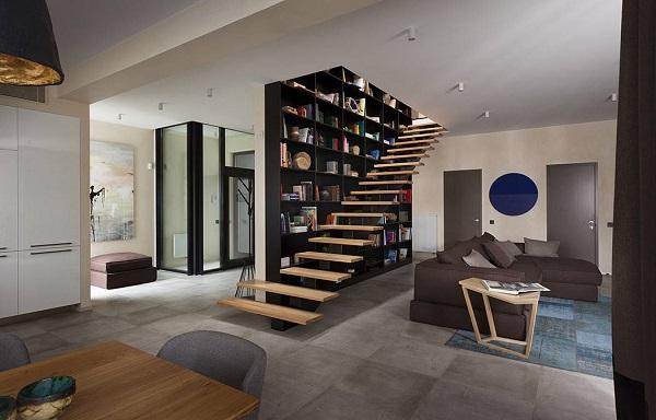 Interior living room design decoration