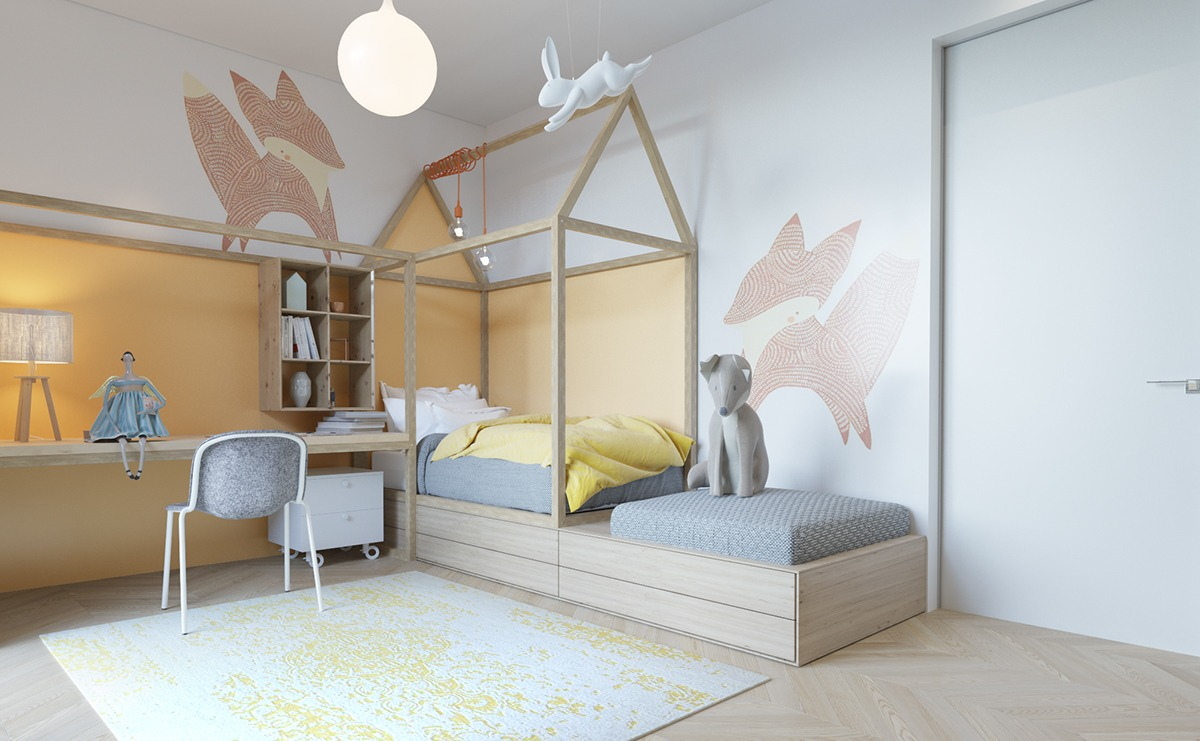 Pastel Colors Bedroom An Awesome Kids Bedroom Ideas With Pastel Color Roohome