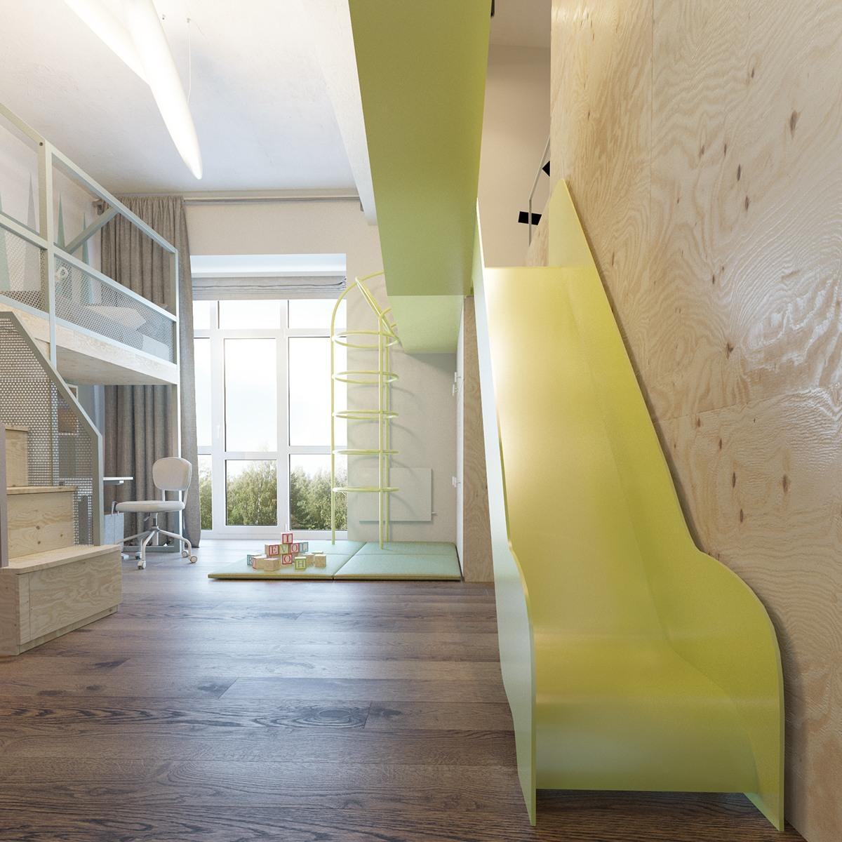 Creative nursery room design
