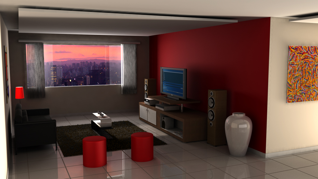 Modern home theatre room style designs for living room roohome designs plans - Useful home theater design plans ...